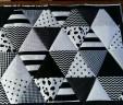 boxkleed zwart-wit